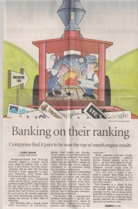 Suresh Babu higlighted in Manatee Herald Tribune, Florida USA