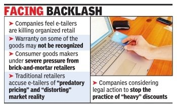 TOI article on Flipkart Big Billion Sale