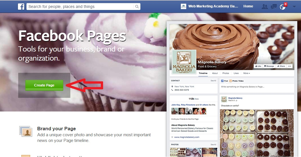 Image result for facebook business pages
